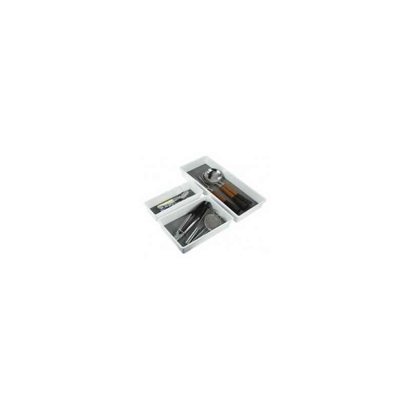 madesmart Bin White 12.8x3.8x2.1inch