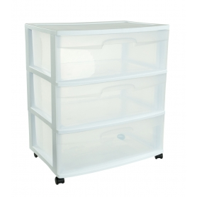 Sterilite Cabinet 3 Drawers Wide