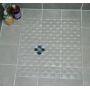Clear PVC Shower Mat 52x52cm