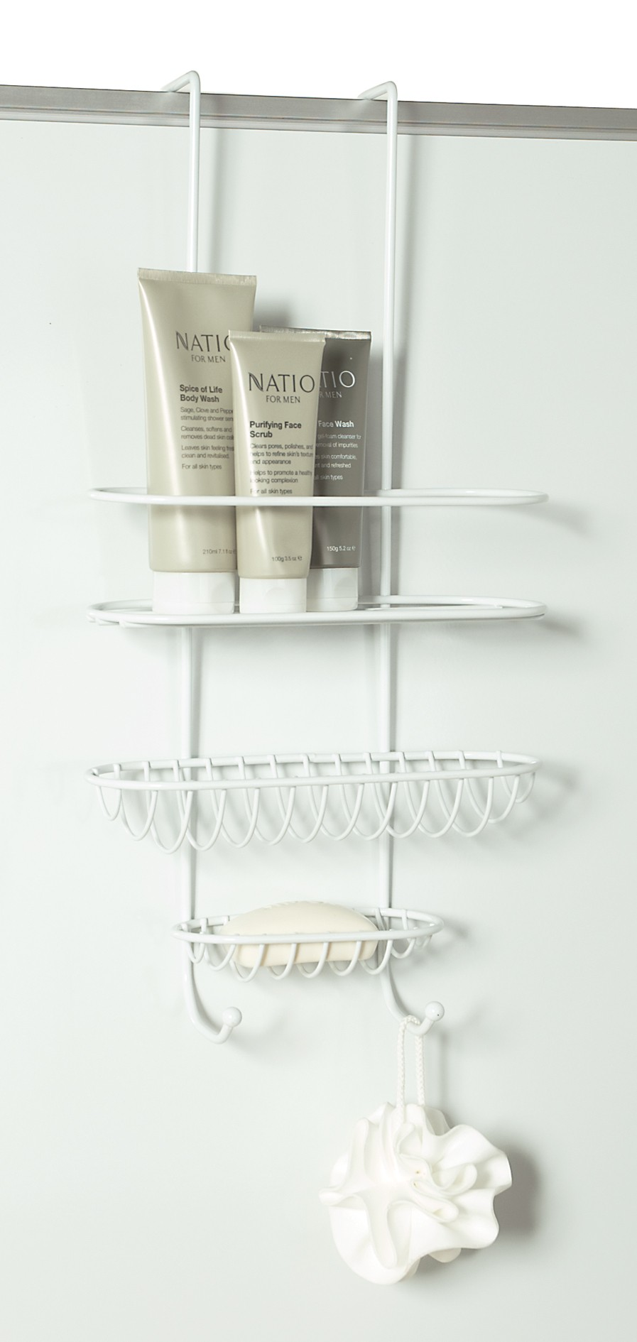 Shower Caddy Over Wall Or
