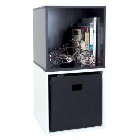 Cube 40cm Black
