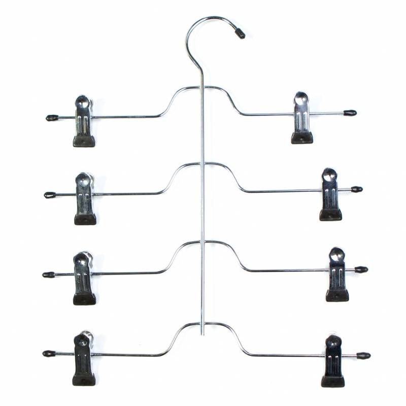 Skirt & Trouser Hanger 4 Tier