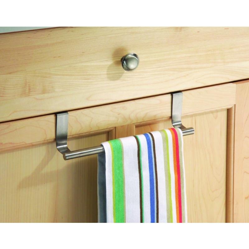 Towel Bar Over Cabinet Door