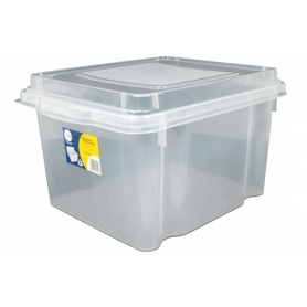 Hanging File Box 31L Clear