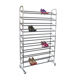 Whitmor Shoe Tower 10 Tier 50 Pairs
