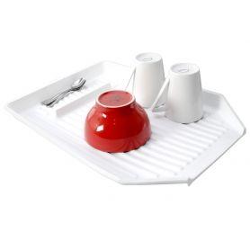 Dish Draining Tray 48x35x45cm White