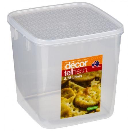 Tellfresh Container 2.75L