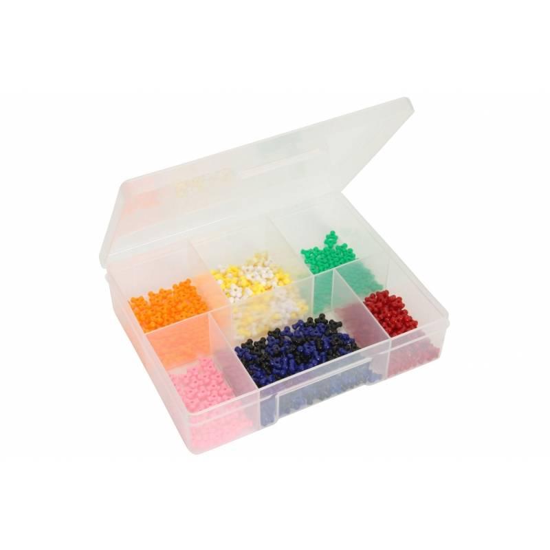 Fischer 6 Compartment Medium Storage Box