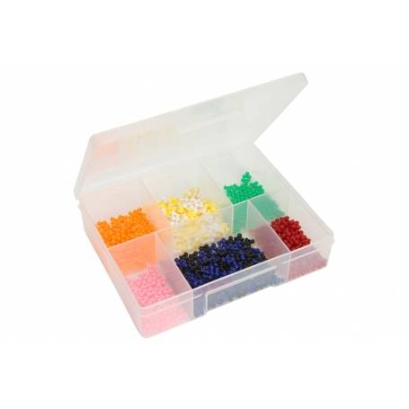 Fischer 6 Compartment Medium Storage Box