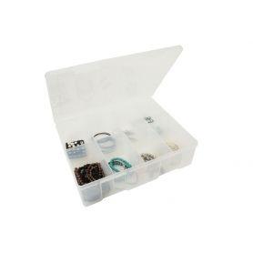 Fischer 8 Compartment Storage Box