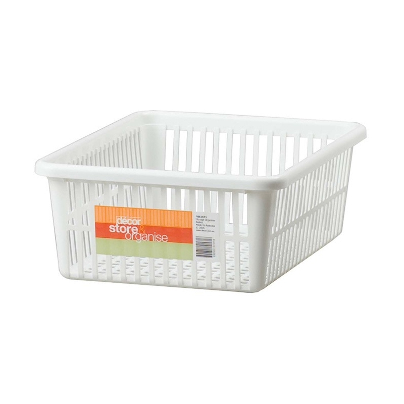 Basket Organiser White