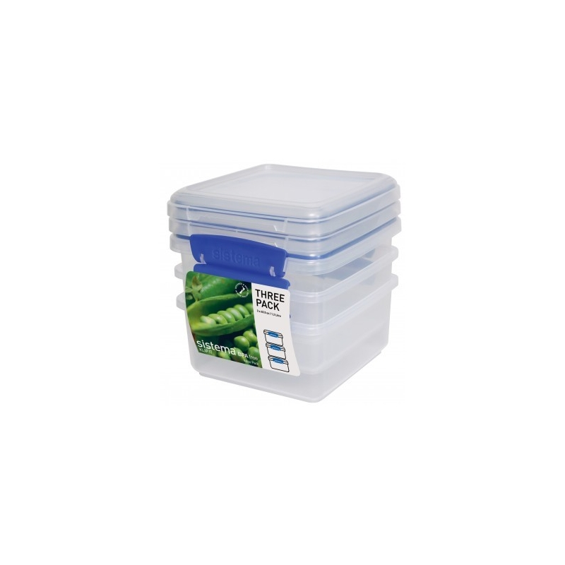 Sistema Klip It 1.2L Food Storer 3 Pack