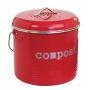 Compost Bin Red 6.5L