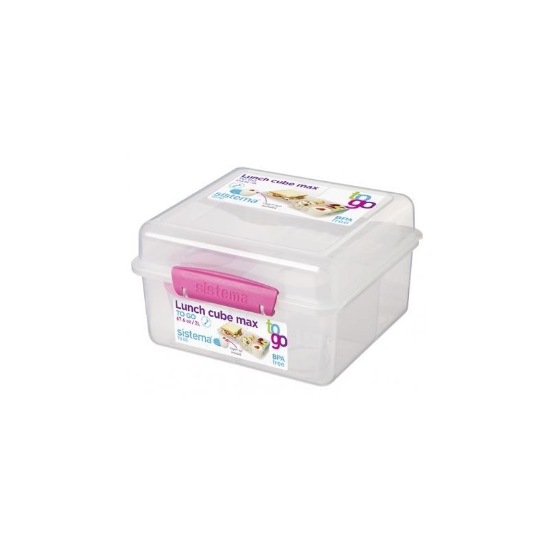 Sistema To Go Lunch Box 2L with Yoghurt Pot