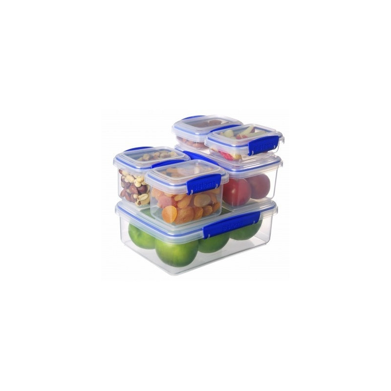 Sistema Klip It Food Storer 6 Piece Set
