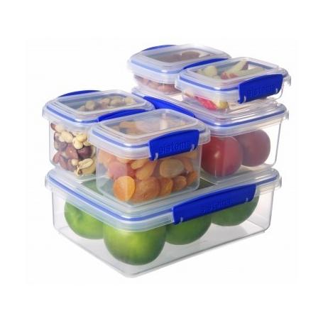 Sistema Klip It Food Storer 6 Piece Set