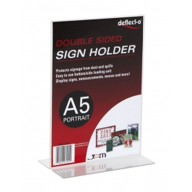 Sign Holder A5 Upright Portrait