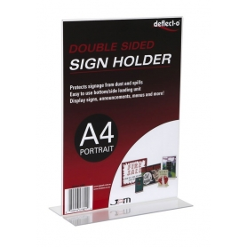 Sign Holder A4 Upright Portrait