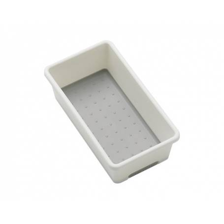 Madesmart Bin White/Grey x Small