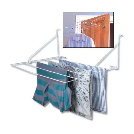 5 Rail Over Door Clothes Airier