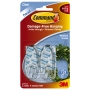 Command Utensil Hooks Clear Medium 2 Pack