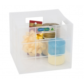 Perroplas Mini Cube 9L Clear