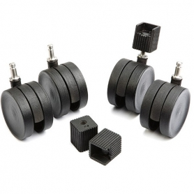Elfa Black Casters 4 Pack