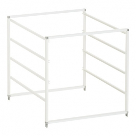Elfa Drawer Frame Medium 4 Runner White