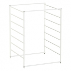Elfa Drawer Frame Wide 7 Runner White