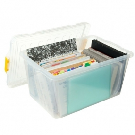 Willow Storage Box 44L Snap Lock Lid