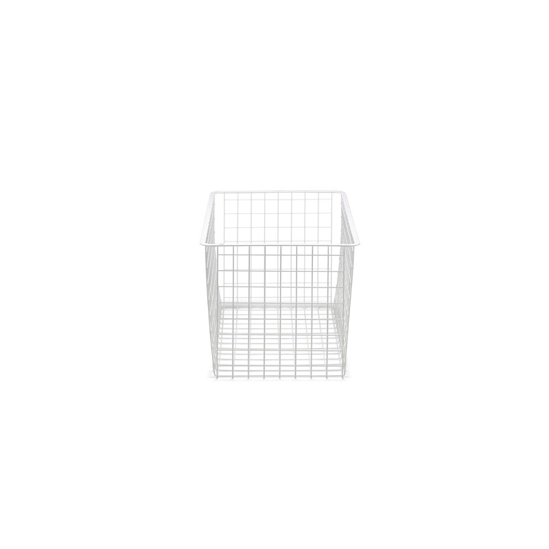 Elfa Wire Drawer Narrow 3 Runner White