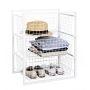 Wire Basket Storage Unit 3 Drawers