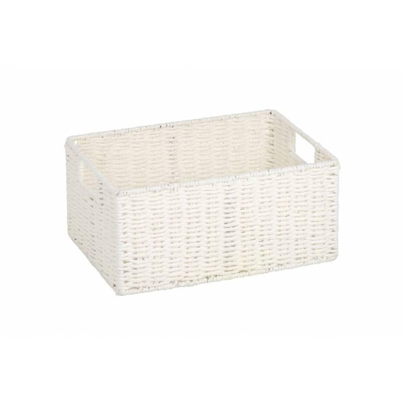 Pastiche Robe Basket White
