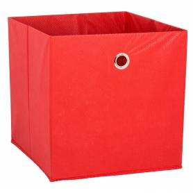 Fabric Box Red Large