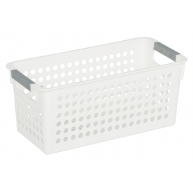 White Basket 29x13x25