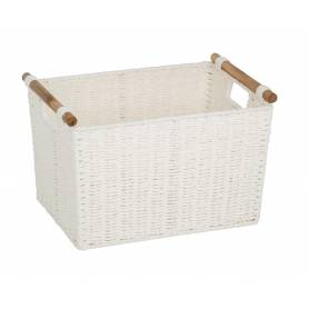 Pastiche Basket White Medium