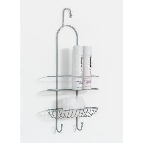 Shower Caddy Silver