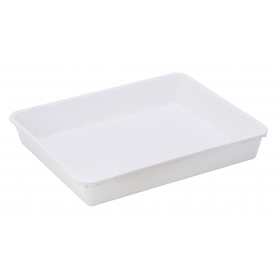 Tray Long Rectangle White