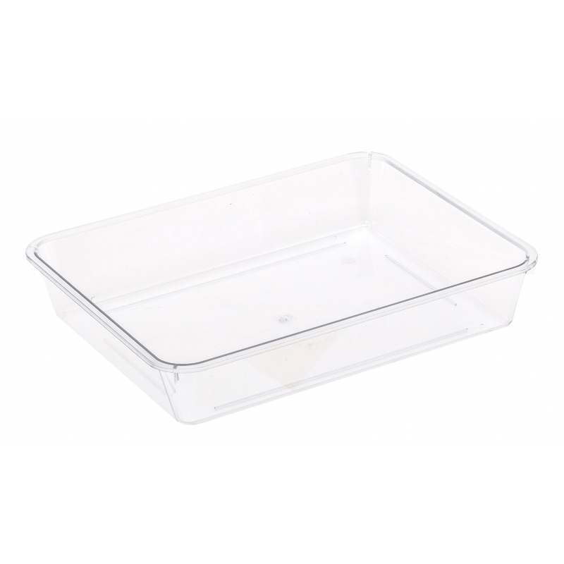 Tray Rectangle Clear