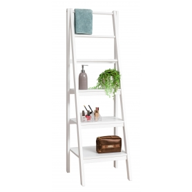 White 3 Tier A Frame Shelf