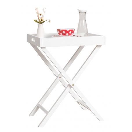 White Wooden Butlers Tray