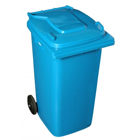120L Wheelie Bin Blue