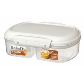 Sistema Bakery 630ml Split Food Storer