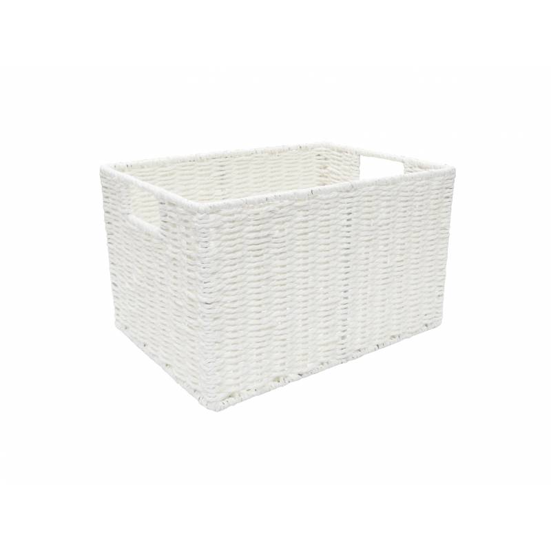 Pastiche Rope Tray White Medium