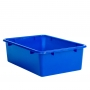 Storage Box 30x42x12cm Plastic Assorted Colours