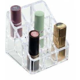 Lipstick Holder 9 Compartments Acrylic