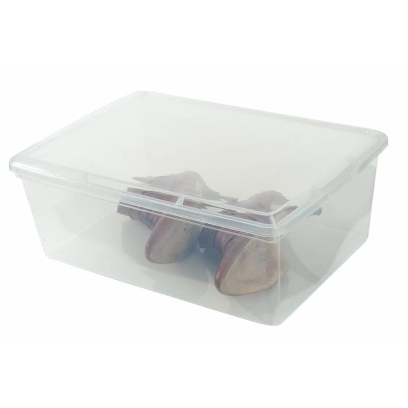 Boot Box Rigid Lid 32.5x39.5x13cm