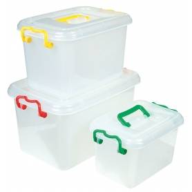 Storage Box With Handle Small