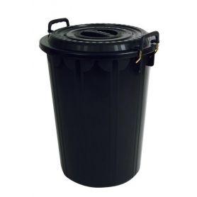 Rubbish Bin with Lid 72L