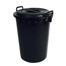 Rubbish Bin with Lid 72L